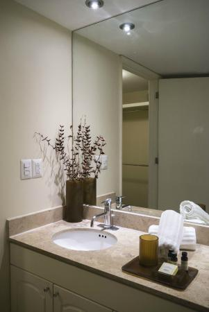 Dominion Corporate Suites: bathroom