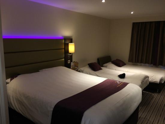Family Room Premier Inn Edinburgh