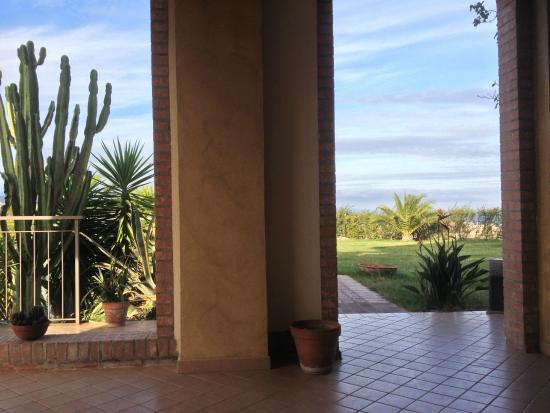 Bed&breakfast La Villa: Vista su giardino
