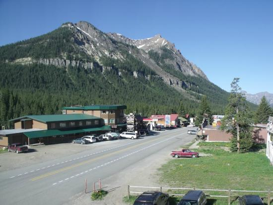 Super 8 Cooke City Yellowstone Park Area: Downtown Cooke City from our room