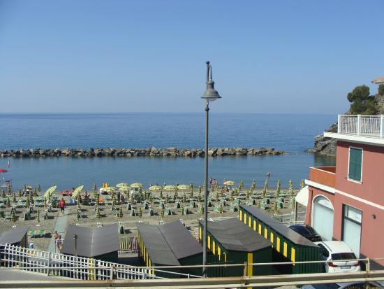 vista da varanda - Foto di Hotel Maggiore, Moneglia - TripAdvisor