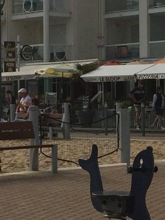 Le restaurant picture of le sloop jard sur mer for Jard sur mer restaurant