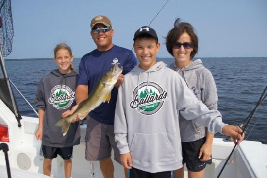 Family FUN on Guided Fishing Trips at Ballard's Resort