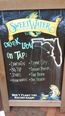 World Of Beer: Great place! Great Sunday menu, with specials for bloody Mary's and Mimosas