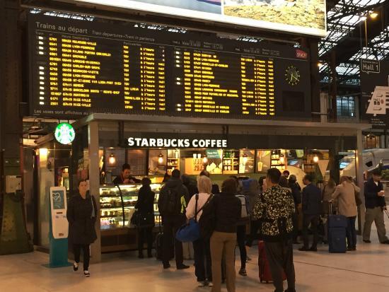 Starbucks At Gare De Lyon Paris Bercy Nation Restaurant Avis