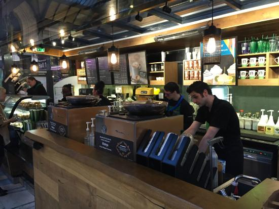 Starbucks At Gare De Lyon Parijs