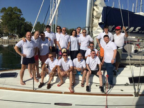 Kavas Yacht Charter : ASUS Romania Team Building