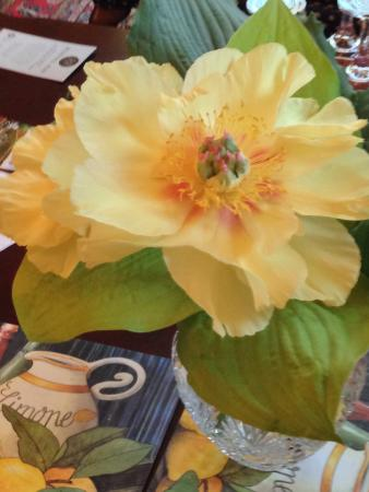 Century House Bed and Breakfast: The owners Beautiful Peonies ��