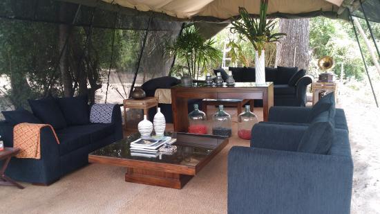 Lounge Area - Picture of Leopard Trails Camp Yala Sri Lanka, Yala ...