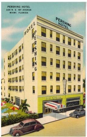 Miami Sun Hotel: Historic Photo of Hotel
