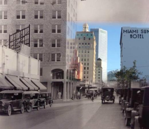 Miami Sun Hotel: Historic Photo