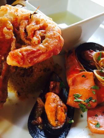 Ristorante Pizzeria Montalbuccio: Cous cous di mare