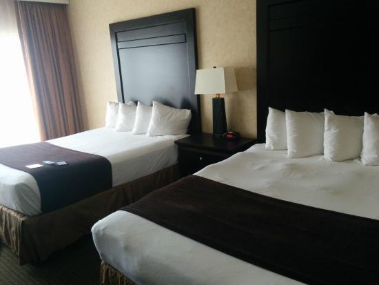 BEST WESTERN PLUS Kelly Inn: Two queen beds