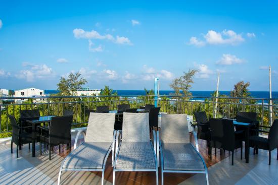 Beach Palace : Sunbath on Terrace