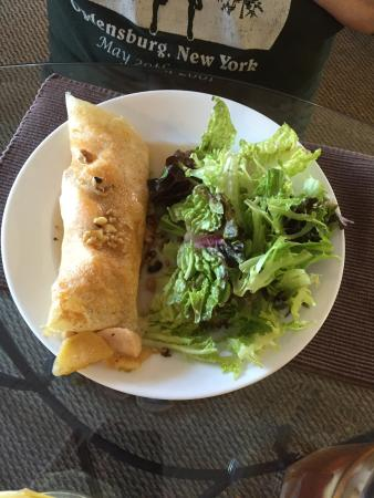 Waddington, Nova York: Maple Chicken Crepe