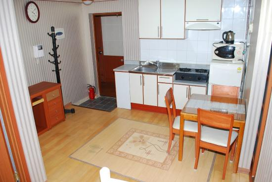 Condo Type Room With Kitchen Picture Of IB Ville Guesthouse - Condo type house