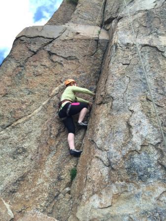 Rocky Mountain Outdoor Center: Rock climbing