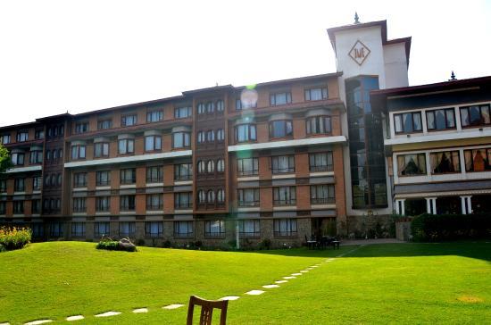 Malla Hotel: teren