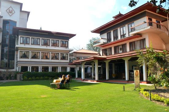 Malla Hotel: ogród
