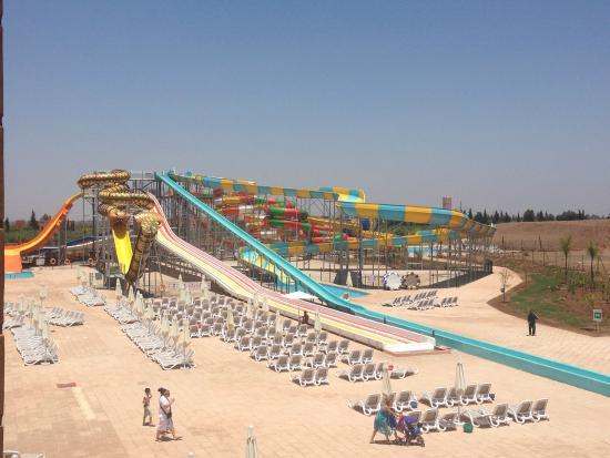 Aqau Park Picture Of Aqua Mirage Club Marrakech