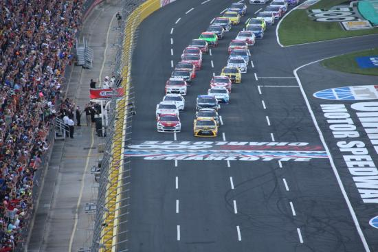 Start Of The Charlotte Coca Cola 600 Picture Of