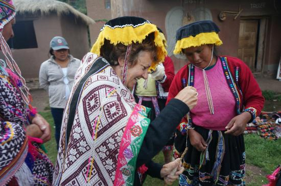 Machu Travel Peru Day Tours: At Amaru Community.