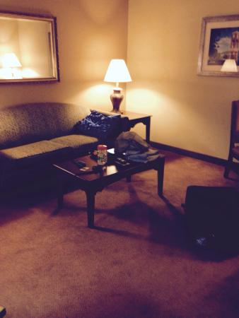 Comfort Suites: Very spacious 2 room suite!