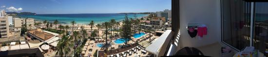 SENTIDO Playa del Moro: Vista de nuestra habitacion. 6topiso ❤️