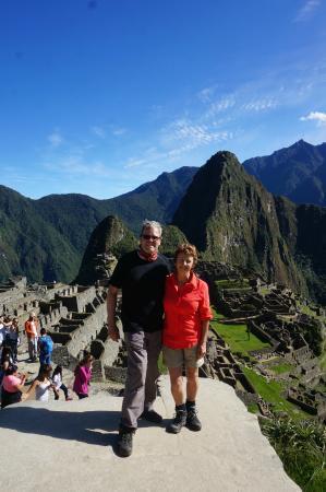 Machu Travel Peru Day Tours: At the Amazing Machu Picchu.