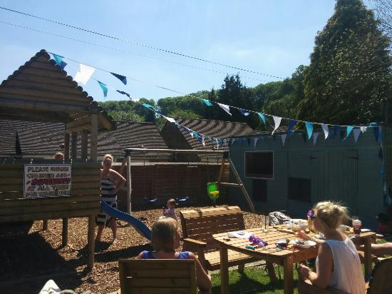 The Manners: The greenest and sunniest beer garden in Bakewell.