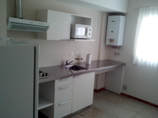 De Los Arroyos Apart Hotel: Cocina