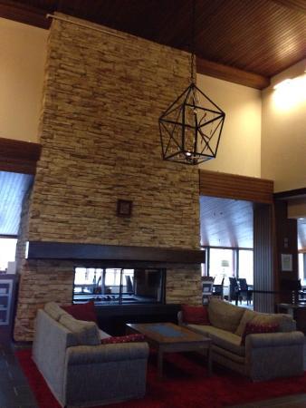 Santa's Hotel Tunturi : Hall e sauna privata