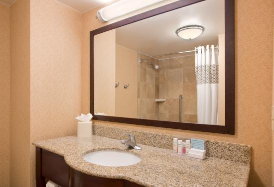 Hampton Inn & Suites Omaha Southwest/La Vista: Two Queen Bathroom