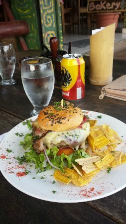 Moya's Place: House Burger