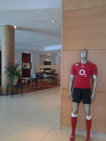 London Marriott Hotel Twickenham : Hotel Lounge