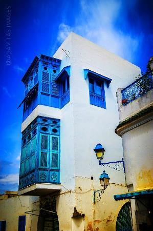 Palais Dar Nejma Ezzahra : Charming white and blue. Sidi Bou Said.  #AdamTasImages