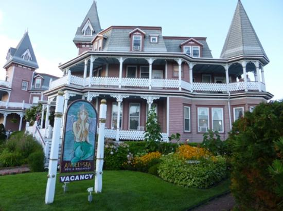 Angel of the Sea: View of the B&B