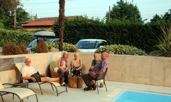 Best Western Hotel Antico Termine: Relaxing by the pool