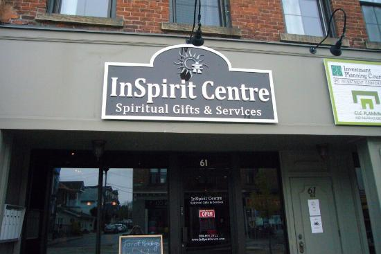 InSpirit Centre -61 Main St. S. in historic downtown Georgetown