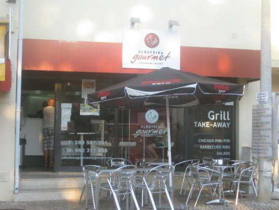 Albufeira Gourmet Churrasqueira Take-Away: Vista Exterior