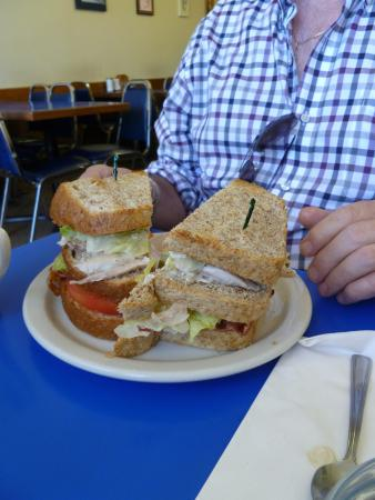 Renee's Soup & Sandwich: Club Sandwich.