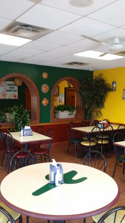 El Burrito Loco: Another view from our table