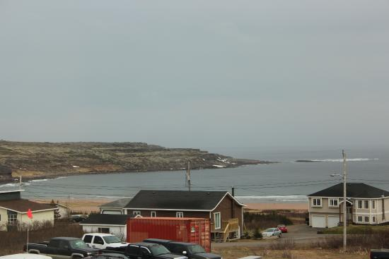 L'Anse au Clair, Canadá: Great view from the 2nd floor