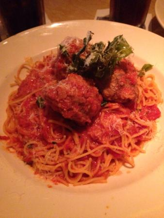 The Cheesecake Factory : The simple Spaghetti and Meatballs always amaze me at this place.