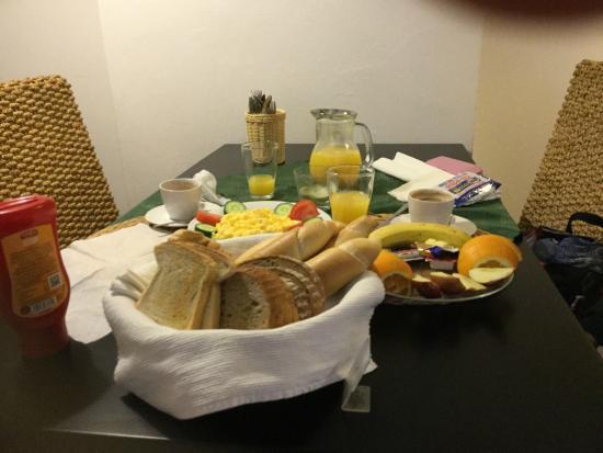 Pension U Jakuba: 僅か4ユーロの朝食です!