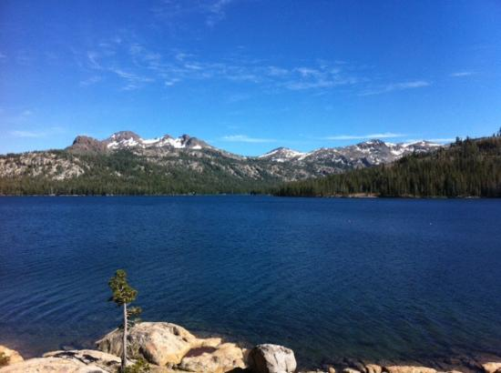Caples Lake Resort: View from room 5
