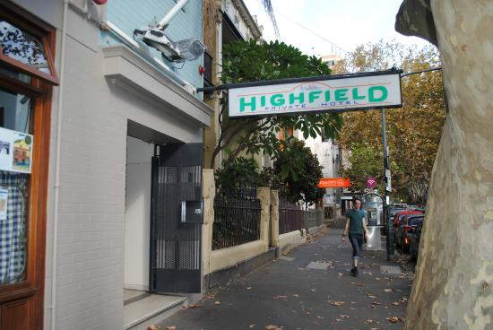 Photo of Highfield Private Hotel Sydney