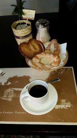 Hotel Casa Real del Café : Breakfast