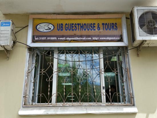 UB guesthouse: Contact information