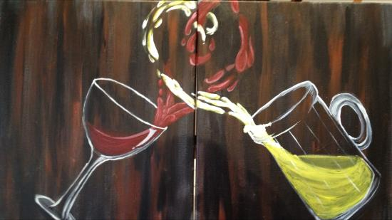 Arts And Spirits LLC We Offer Multiple Couples Paintingscome Paint Together